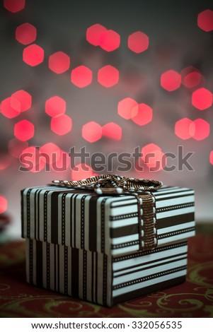 Christmas gift - stock photo