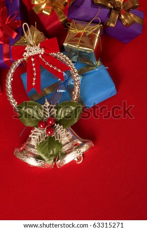 Christmas  Gifts and Ornaments - stock photo