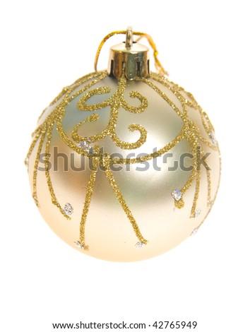 Christmas glass ball - stock photo