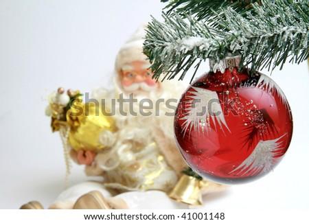 Christmas globe - stock photo