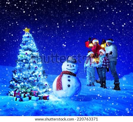 Christmas holiday - stock photo