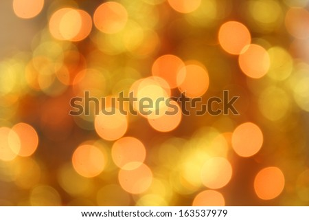 Christmas holiday lights bokeh background - stock photo