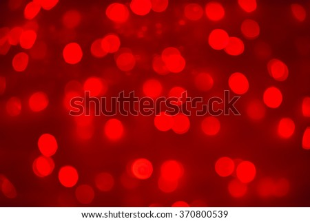Christmas holiday or Chinese new year abstract background red bokeh