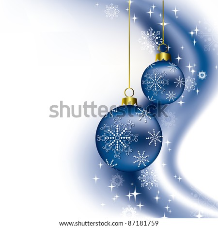 Christmas Illustration. Abstract Background.