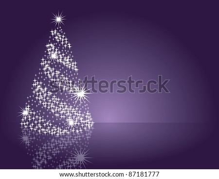 Christmas Illustration. Abstract Background. - stock photo