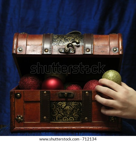 christmas is coming - stock photo