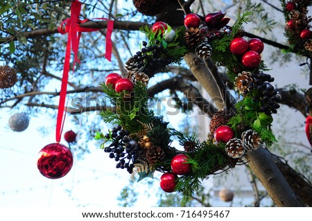 https://thumb7.shutterstock.com/display_pic_with_logo/167494286/716495467/stock-photo-christmas-lease-outside-winter-716495467.jpg