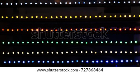 Christmas Lights And Party Lights Of A Certain Type
