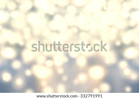 Christmas lights Background. Golden Holiday Abstract Defocused Background With festive boke. Blurred Bokeh - stock photo