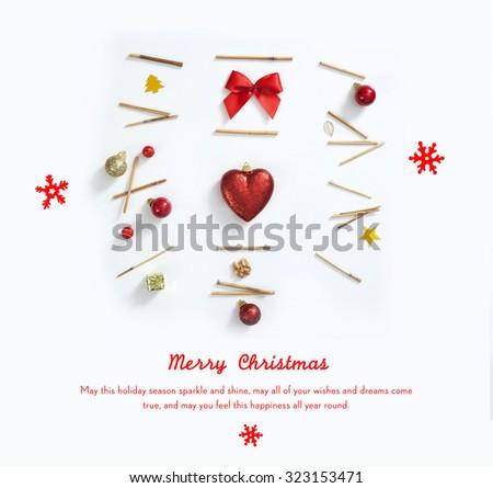 CHRISTMAS LOVE - stock photo