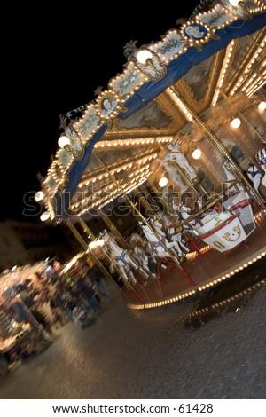 Christmas marked at Piazza Navona, Rome - stock photo