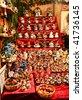 Christmas market in Lueneburg, Germany (near Hamburg) - stock photo