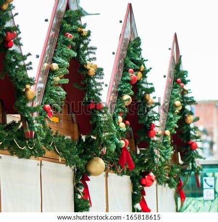 Christmas market in Speyer, Germany - stock photo