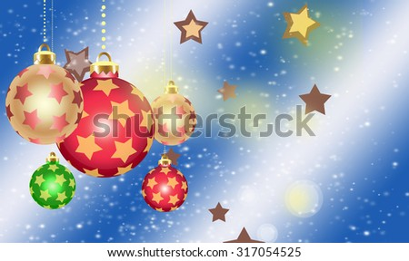 Christmas, new year and holiday background