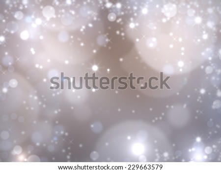 Christmas night Background. Abstract defocused Background with holidays stars.  - stock photo