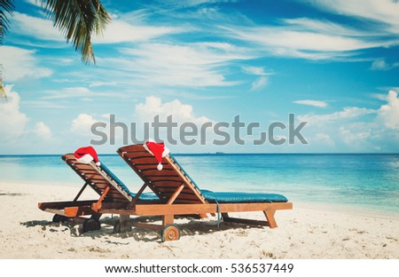 Christmas Beach Stock Images, Royalty-Free Images & Vectors ...