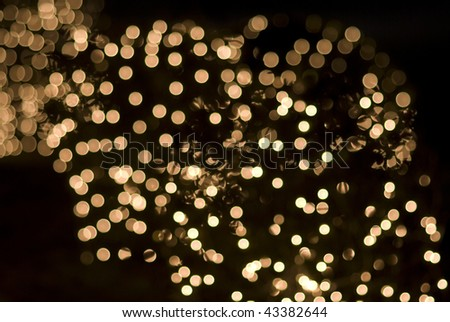 christmas or holiday lights effects sparkling sequins - stock photo