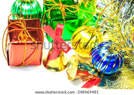 Christmas or New Year background,