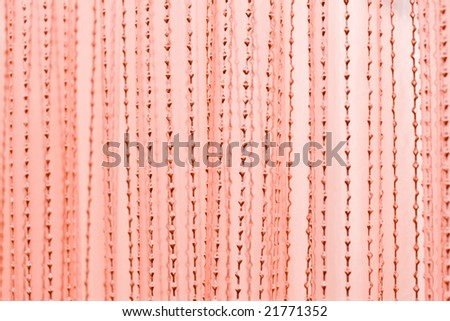 Christmas or Valentine pink textile pattern for background - stock photo