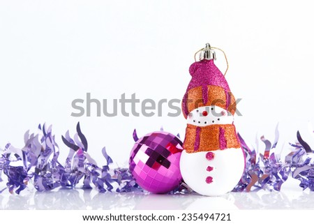 Christmas ornament.  - stock photo