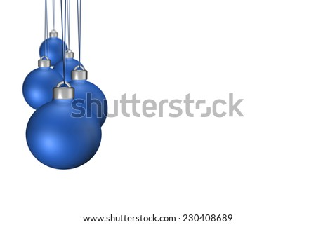 Christmas Ornament Decoration. Christmas Background - stock photo