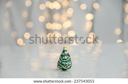 Christmas ornaments. - stock photo