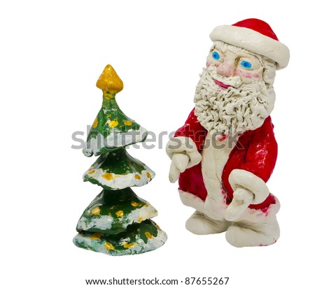 Christmas ornaments for New Year decorations - stock photo