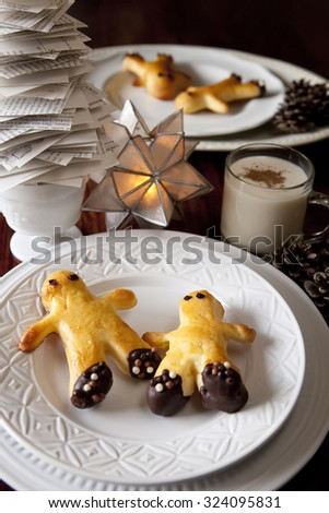 Christmas Pastry - stock photo