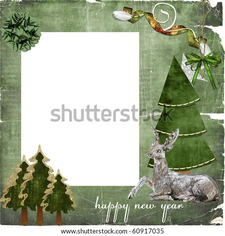 Christmas Photo Frame - stock photo