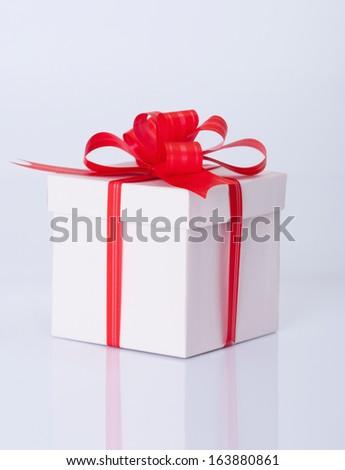 Christmas photo :  gift - stock photo
