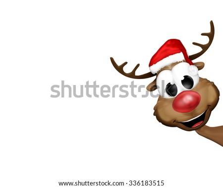 Christmas Santa Claus Red Festive - stock photo