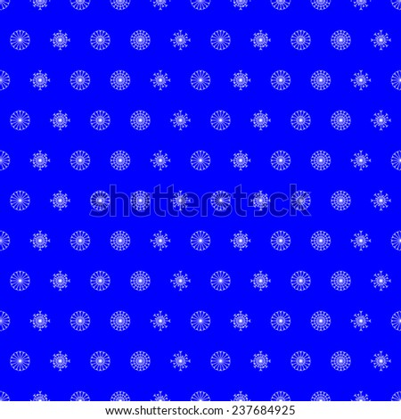 Christmas seamless background with snowflakes. For holiday decoration, wrapping paper, wallpaper, gift boxes, other packing elements - stock photo
