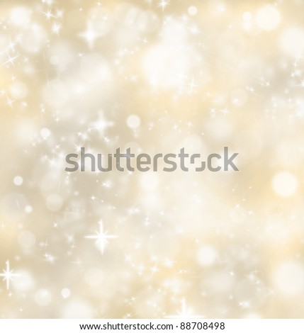 Christmas shiny background - stock photo