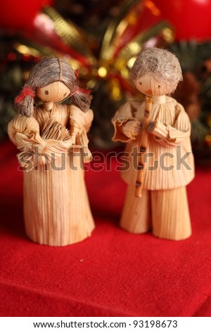 Christmas still-life - stock photo