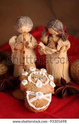 Christmas still - life - stock photo