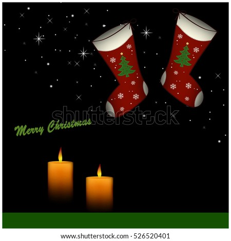 Christmas Stockings - Merry Christmas