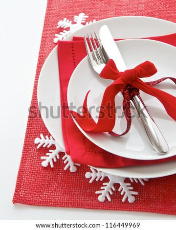 Stock Images Similar To Id 153846554 Christmas Table