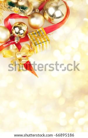 Christmas theme - stock photo