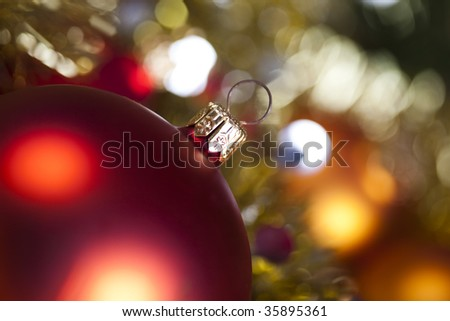 Christmas Tree Bauble