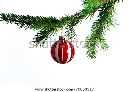 christmas tree bubble