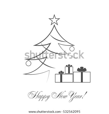 Tree Outline Stock Photos, Royalty-Free Images & Vectors ...
