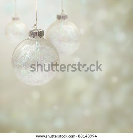 Christmas-tree decoration - stock photo