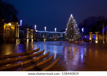 Christmas Tree in Dunfermline