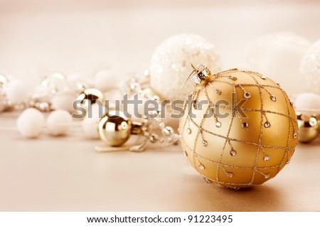 Christmas Vintage Decoration - stock photo