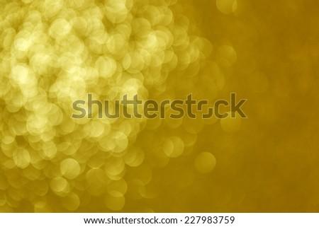 Christmas Winter Background Golden/Christmas Winter Background - stock photo