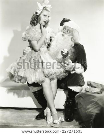 Christmas wish list - stock photo