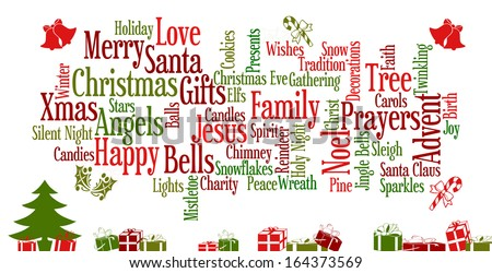 Christmas Word Cloud Stock Images, Royalty-Free Images & Vectors ...