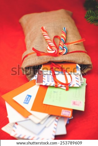 Christmass letters - stock photo