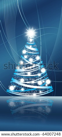 christmass tree - stock photo