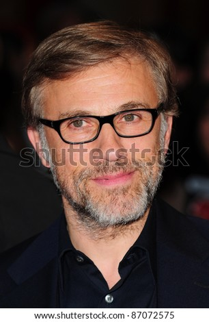 Christoph Waltz arrives for the Uk Premiere of Water For Elephants at Westfield London 3rd May 2011 Picture by Simon Burchell/Featureflash